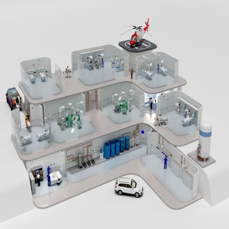 Hệ thống khí y tế Dräger
